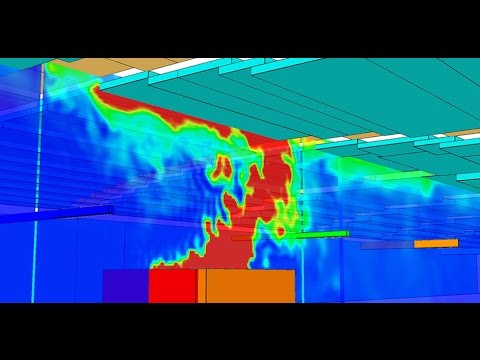 FDS FOGO | FIRE DYNAMIC SIMULATION | CFD