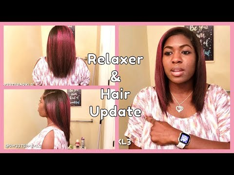Relaxer & Hair Update June 2019