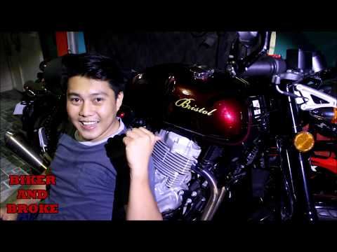 Bristol Motorcycle 400cc Review 1st 1000 km