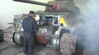 Czudek-tank T 34