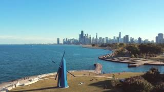 MY FIRST DAY WITH THE DJI SPARK - CHICAGO SKYLINE