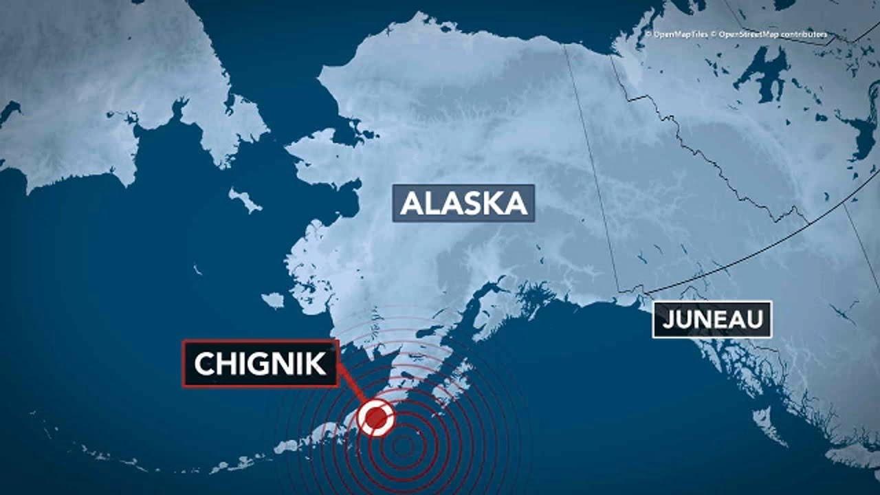 Download Alaska earthquake: 8.2-magnitude quake strikes off state's coast; tsunami warning canceled   ABC7