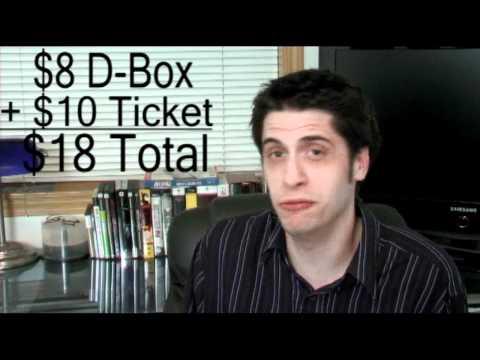 D-Box movie theatre seats