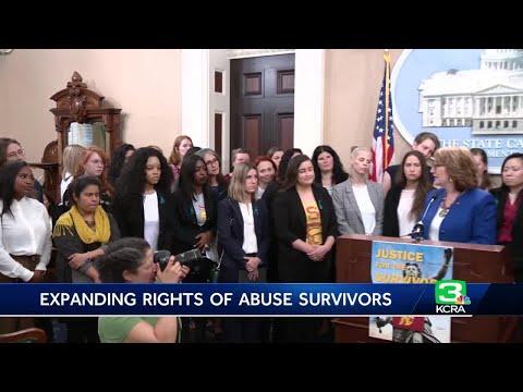 Aly Raisman, dozens of sexual assault survivors support California right-to-sue bill