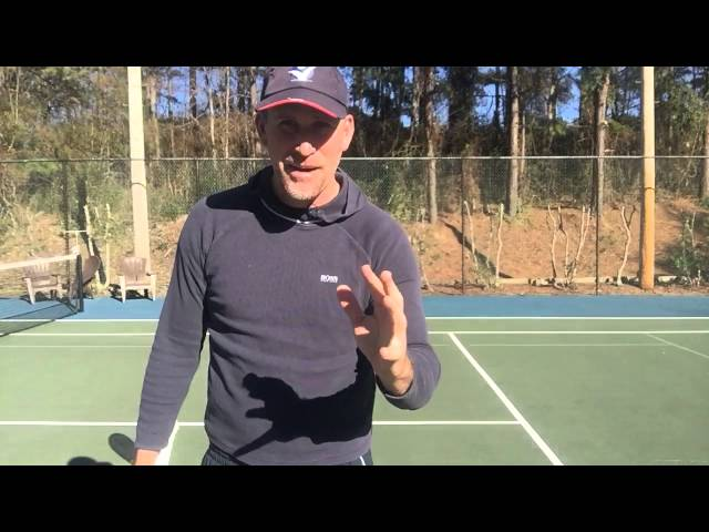 Tennis lessons: How to stop missing topspin forehands with one simple tip