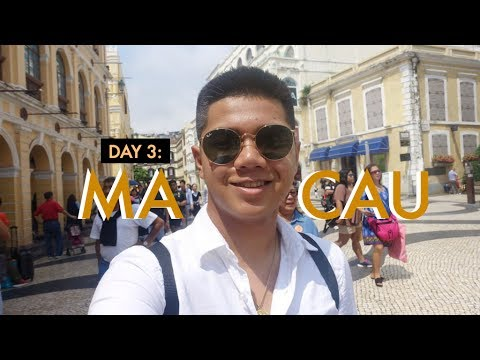 DAY 3 IN MACAU: City Tour + Cost of Living in Macau?!