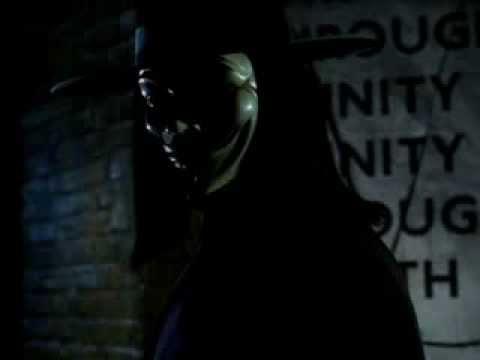 V For Vendetta - Tirade du V