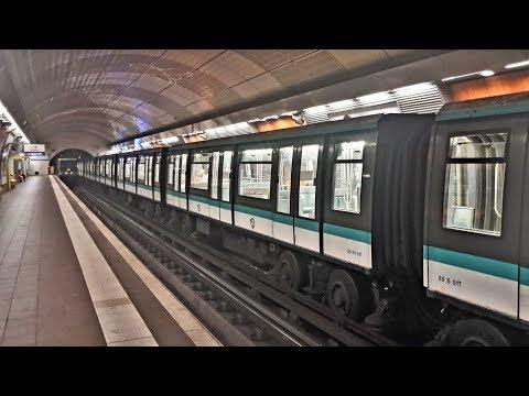 Métro de Paris, ligne 4 : Matériel MP89 Ratp - Porte d'Orléans/Mairie de Montrouge