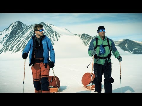 Father and son embark on world's first expedition to the South Pole using only renewables