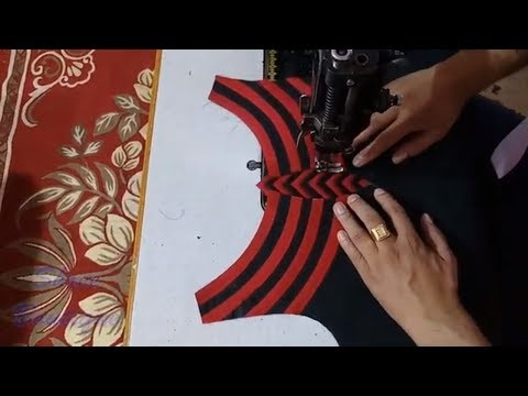 Stylish Designer Boat Neck Design for Kurti/ Suit / Kameez Cutting and Stitching