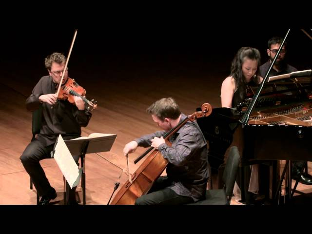 Brahms Piano Trio in C minor for Piano, Violin, and Cello, I. Allegro engerico