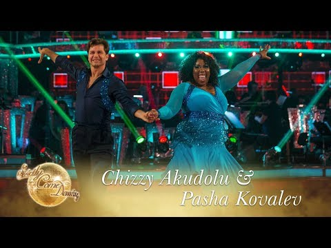 Chizzy Akudolu and Pasha Kovalev Cha Cha to 'Boogie Fever'  Strictly Come Dancing 2017