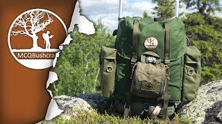Bushcraft LK35 Backpack, Aluminum Frame Upgrade & The Gear I Use