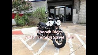 Chooch Rides - 2018 Triumph Street Twin