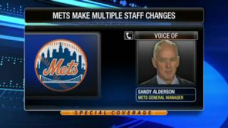 Mets GM talks manager search, disappointment with AAA development