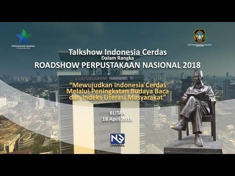 LIVE! Perpustakaan Nasional Republik Indonesia, Talkshow Indonesia Cerdas