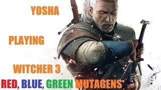 Ведьмак 3. Фарм мутагенов. Лучший гайд. Красные мутагены, синие мутагены,  зеленые мутагены.
