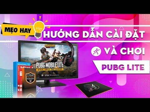 Hướng dẫn chi tiết  tải và cài đặt PUBG Lite PC   Có Tiếng Việt trong game
