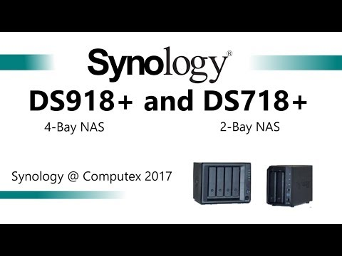 The BRAND NEW Synology DS718+ and DS918+ NAS uncovered at
