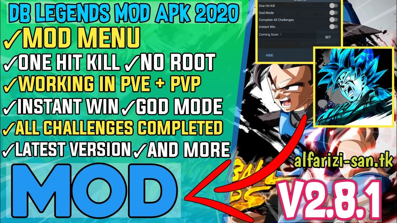 Dragon Ball Legends Mod Menu v2.8.1 | Hack Unlimited Money, No Root, New Update | DBL Mod Apk 2020