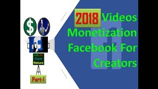 Earn Money Facebook Video Monetization Facebook for creators 2018 Azeem Qudrat