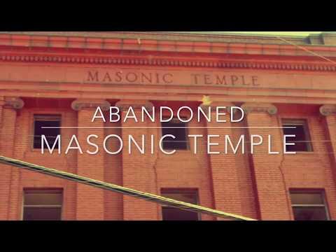 Crazy Abandoned Masonic Temple Cleveland