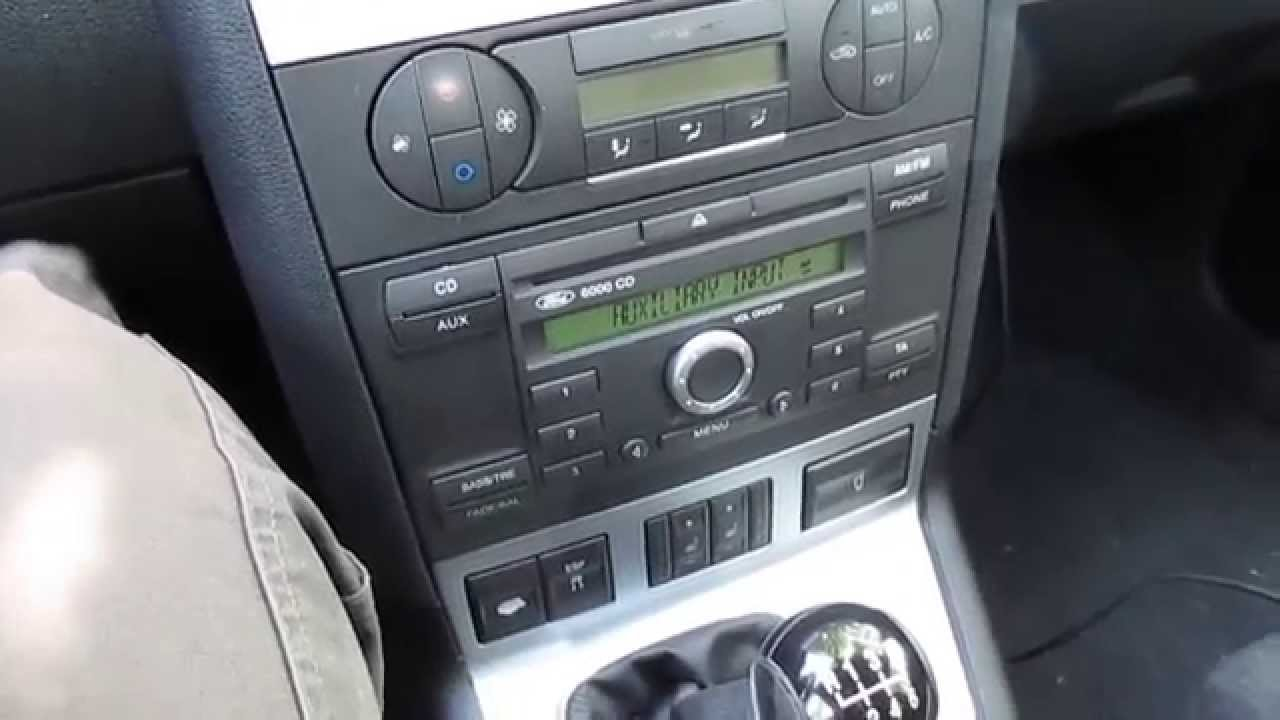 Ford Mondeo Mk3 Original Music Sound Youtube