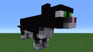 Minecraft Tutorial: How To Make A Cat Statue
