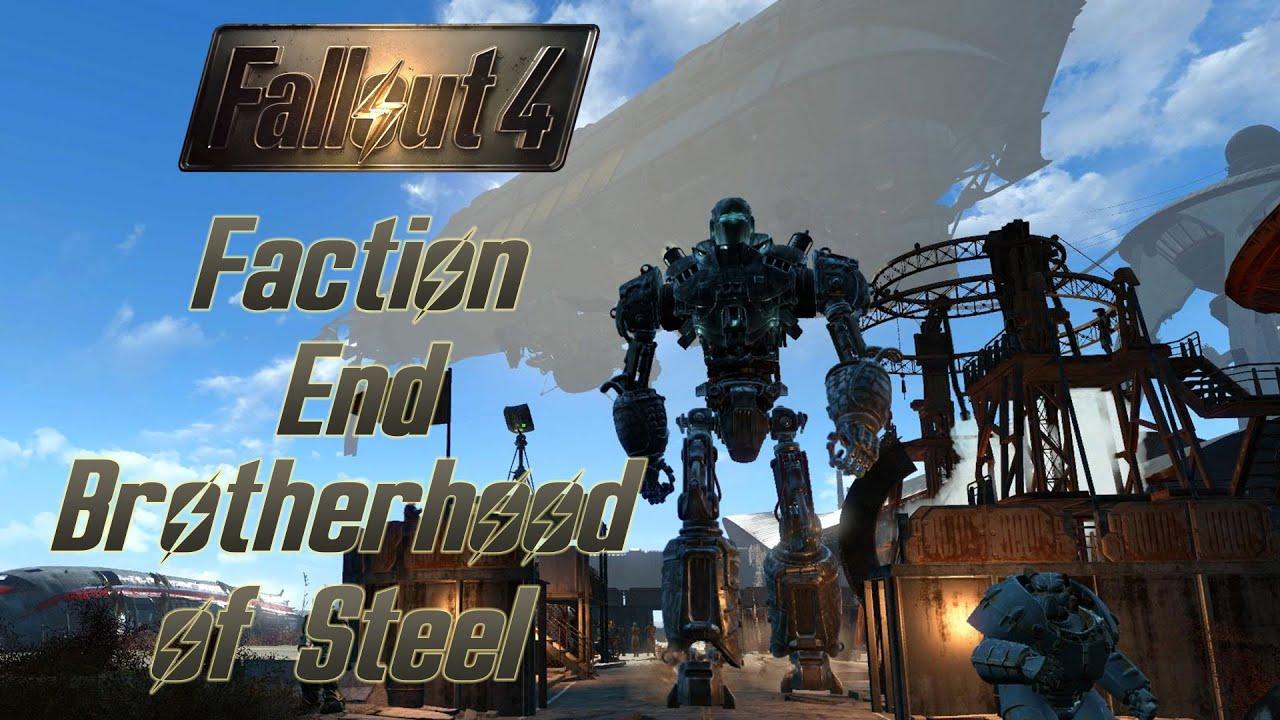 Fallout 4 Stählerne Bruderschaft