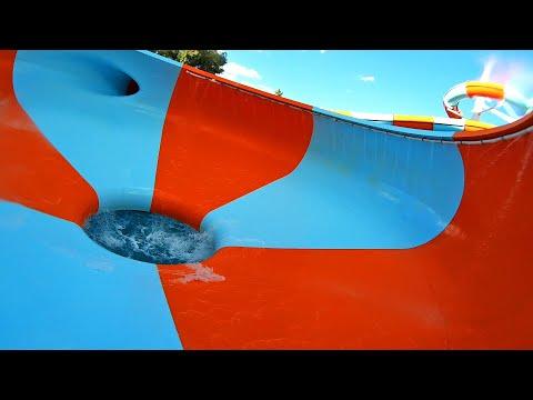 Space Bowl Water Slide | South Australia Aquatic Centre