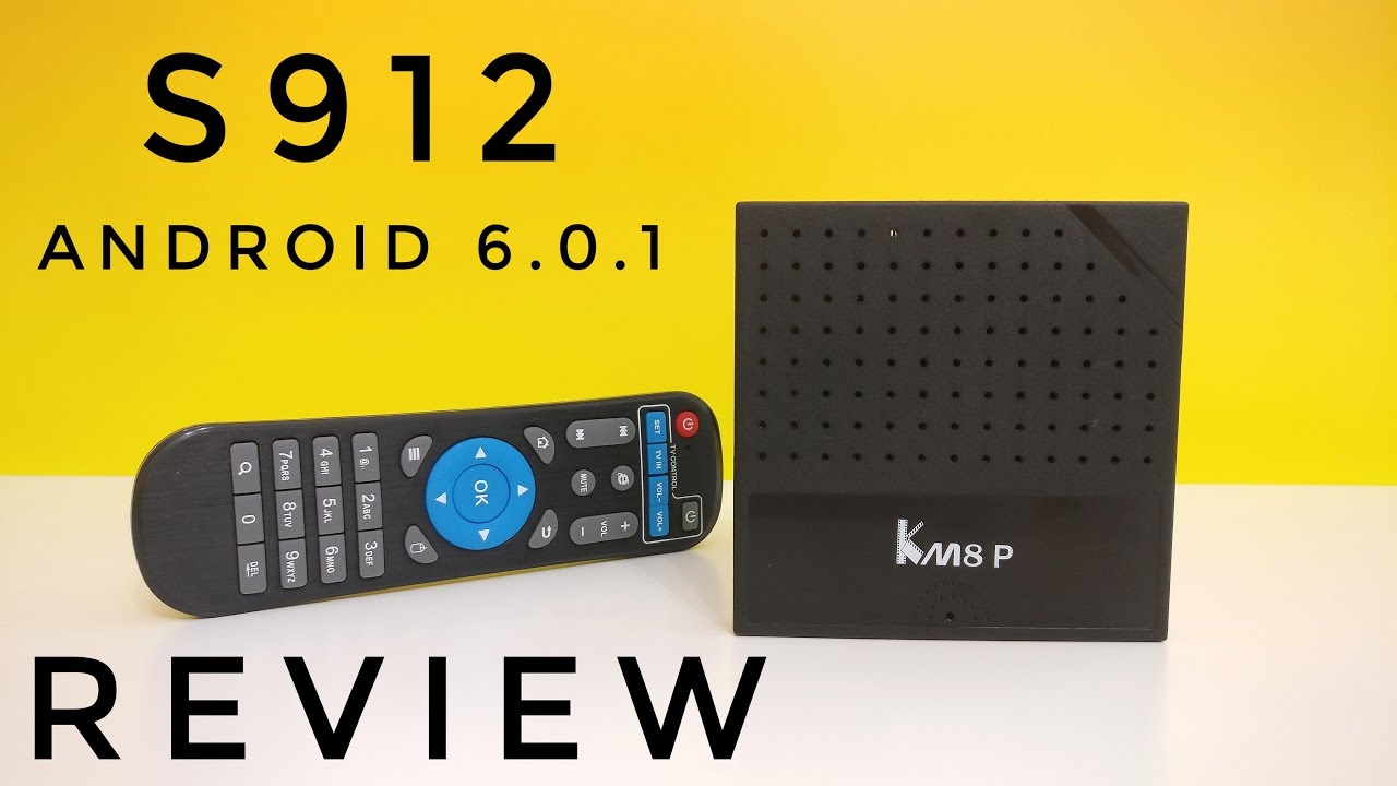 KM8 P Android TV Box REVIEW - Cheapest TV Box with the Amlogic S912