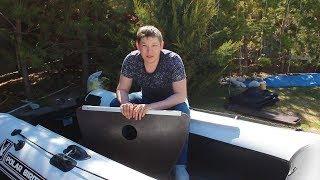 ВОТ ОНА НАША МЕЧТА! НАША ЧУДО ЛОДКА ПРОСТО БОМБА! пвх лодка POLAR BIRD 300S!
