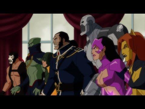 Лига справедливости кризис двух миров смотреть мультфильм онлайн