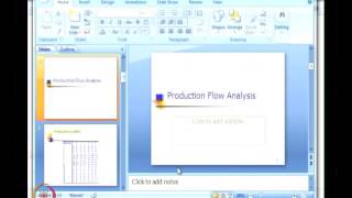 Mod-01 Lec-04 Cellular Manufacturing Applications, Production Flow Analysis