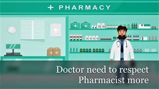 No interaction linking pharmacists & doctors | the biggest challenge of healthcare system | aug 2020