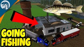 AMAZING NEW FISHING MOD, PLACEABLE FISHERY | Farming Simulator 17 Multiplayer Gameplay