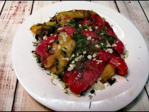 Невероятно Вкусный Жареный Перец с чесноком и зеленью