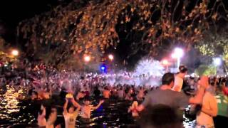 Ohio State Mirror Lake Jump 2010 HD