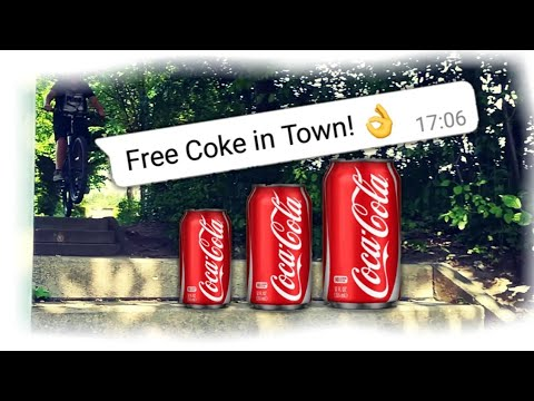 Free Coke in Town - GermanBikerZz