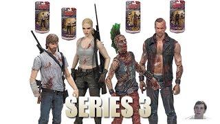The Walking Dead Comic Book Series 3 Figures!