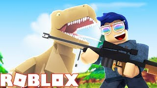🏞 MY OWN JURASSIC PARK PARK Roblox Zoo Tycoon English