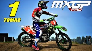 MXGP PRO - MOD | Eli Tomac #1 - Red Bud 2018 - Special USA Flag Edition | By LEONE 291