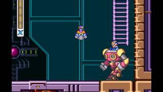 Mega Man X - Mega Man X Playthrough Part 12 Sigma stage 2 - User video