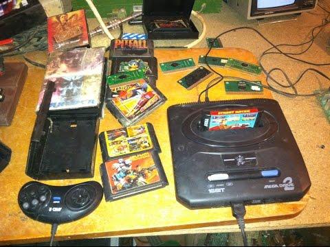 Мои находки ВОССТАНАВЛИВАЕМ ИЗ ХЛАМА ВЫПУСК №4 Игровая приставка Sega Mega Drive 2