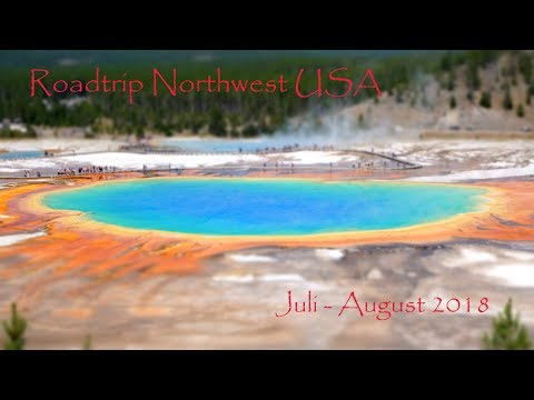 Traumurlaub Nordwesten USA - Seattle to Yellowstone Camping cabin Trip with Grizzly Encounter