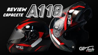 REVIEW | Capacete GP Tech A118 Articulado