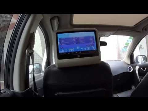 Touchscreen Karaoke Multimedia for Cars, Tour Bus, Caravan.  Android OS with Wifi, Hard disc