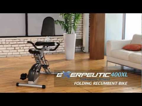 1110 - 400XL Recumbent Bike with Pulse