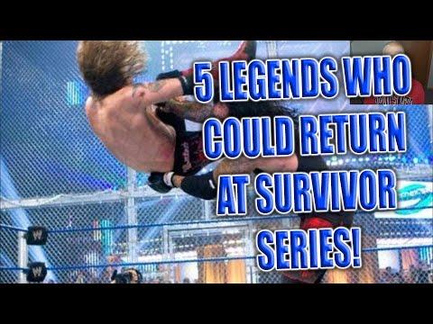 Download 5 Legend's Who Could Return At Survivor Series 2020!
