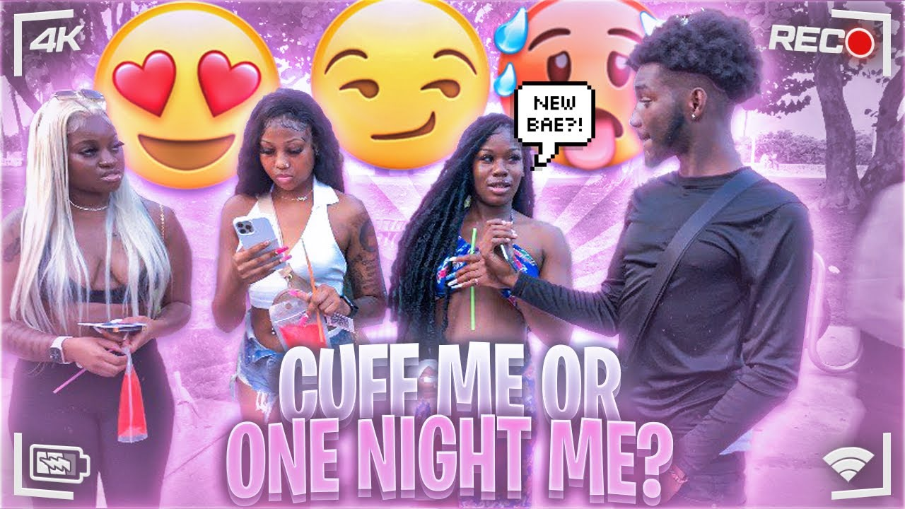 Would You Rather Cuff Me Or One Night Me? 😳ROLLING LOUD EDITION